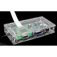 LED/lcd placa controladora driver de Acrílico transparente caixa de caixa de proteção Para O nosso EDP driver do controlador do cartão placa mãe|null| |  -