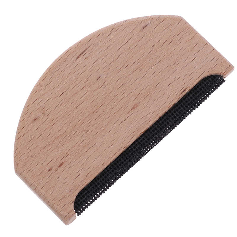1PCS Wooden Garment Care Anti Pilling Manual Sweater Brush Easy To Use Home Use Lint Remover Fabric Comb Easy Clean