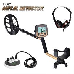 Nuovo Arrivo Metal Detector Sotterraneo Pro Oro Bug Detector 2 Bobine Treasure Hunter Finder Pinpointer Display Lcd Ad Alta Sensity