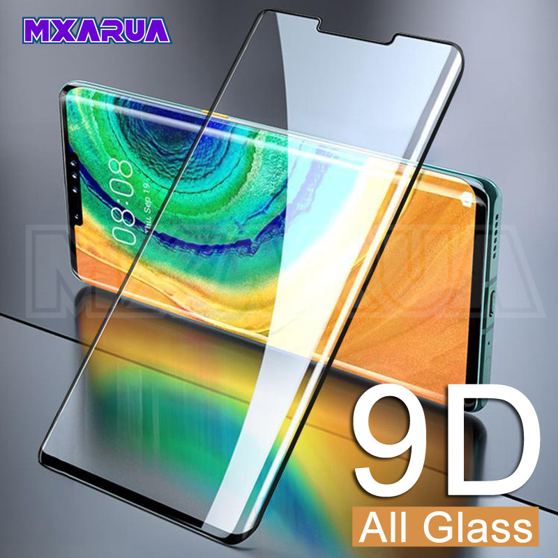 9D Tempered Protective Glass On For Huawei Mate 30 20 Pro Lite 20X Mate 10 Pro 9 Lite P Smart 2019 Screen Protector Glass Film
