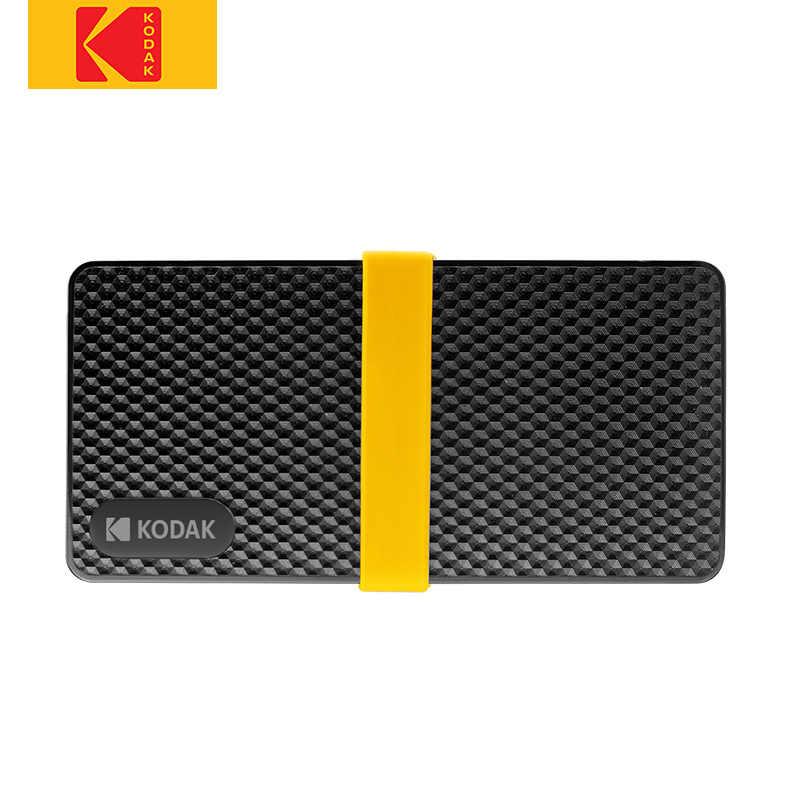 Kodak SSD X200 zewnętrzny dysk twardy 256GB 512GB 1TB HDD disco duro externo typ C USB 3.1 dysk twardy do laptopa telefon komórkowy