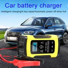 12V 6A Full Automatic Car Battery Charger Power Pulse Repair Chargers Digital LCD Display for Wet Dry Lead Acid Battery charger