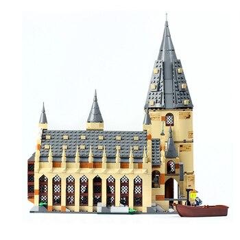 926pcs Hogwart Castle Hall Building Blocks Bricks Compatible Harrys Movie 39144 Toys for Children Christmas Gift