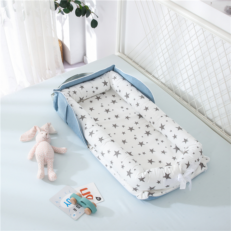 Portable Baby Nest Bed Travel Crib Bed Newborns Cots Nursery Sleep Nest Infant Cradle Nest