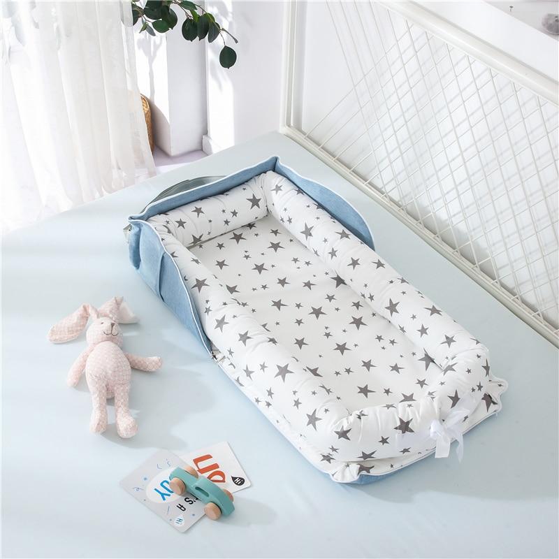 Portable Baby Nest Bed Travel Crib Bed Newborns Cots Nursery Sleep Nest Infant Cradle Nest