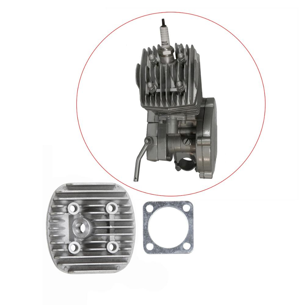 80cc Cylinder Head Cover & Gasket Set Fit for 66cc 80cc 2- Stroke Engine Motorized Bicycle Bike