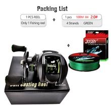 Bait-Casting-Reel Fishing-Accessories Saltwater Ultralight 2000 8:1:1-Gear-Ratio 17 Series