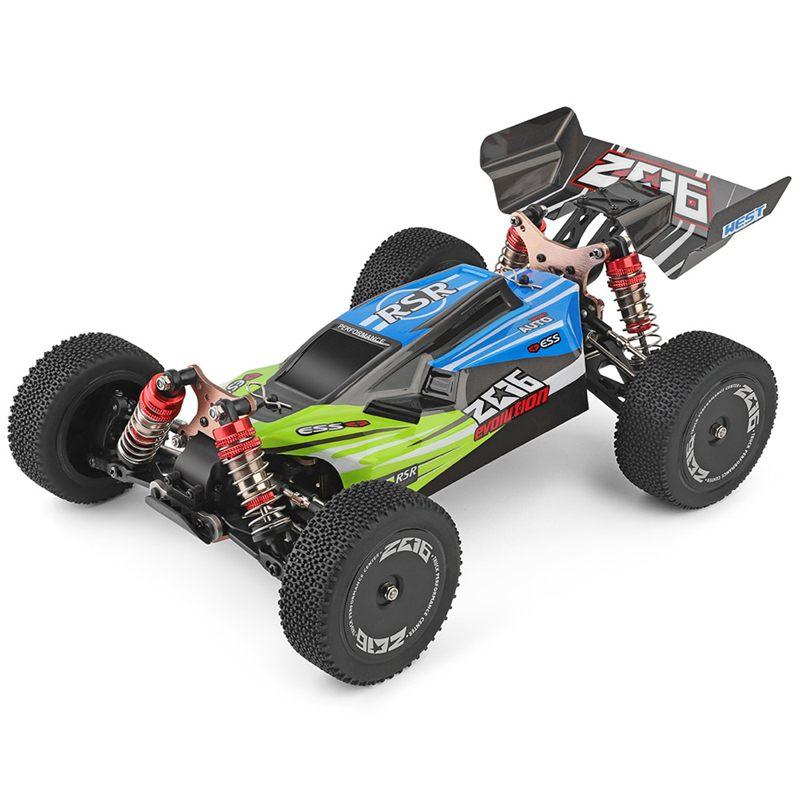 Di Alta Qualità Wltoys 144001 1/14 2.4G di Controllo Remoto Rc Auto 4WD Ad Alta Velocità da Corsa Modelli di Veicoli 60Km/H Dei Bambini regalo Giocattoli - 2