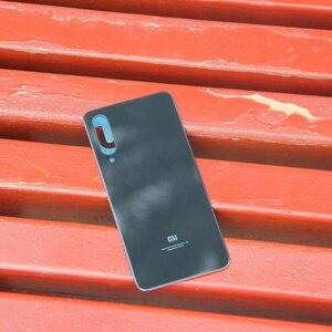 Image 5 - מקורי XiaoMi זכוכית סוללה אחורי מקרה עבור Xiaomi Mi9 SE M9 SE טלפון סוללה Backshell בחזרה מקרי כיסוי אחורי סוללה כיסוי