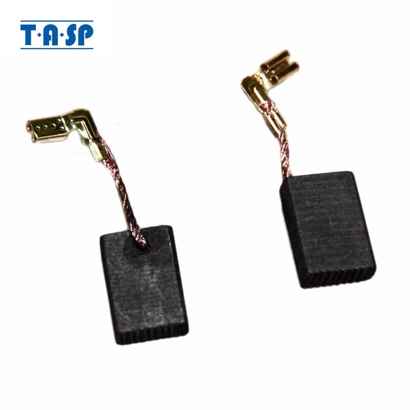 TASP Carbon Brushes 16x11x5mm 5 Pairs For Makita Electric Motors CB325 9554NB 9557NB 9558