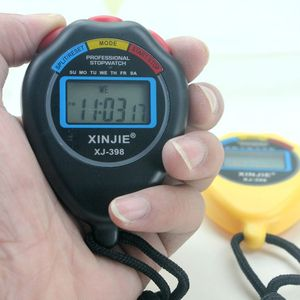 Image 5 - Classic Digital Professional Handheld LCD Chronograph Sports Stopwatch Timer Stop Watch With String 2020 New Sale