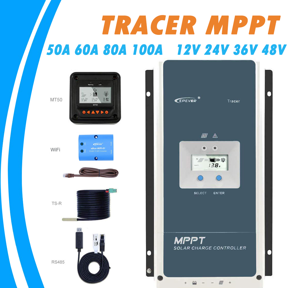 Epever 50A 60A 80A…