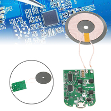 Wireless Charging Standard For iphone 11 Pro MAx Qi Fast Wireless Charger PCBA Circuit Board Transmitter Module Coil Charging 10w high power fast charging 3 coil diy wireless charging module pcba qi mobile wireless charging board