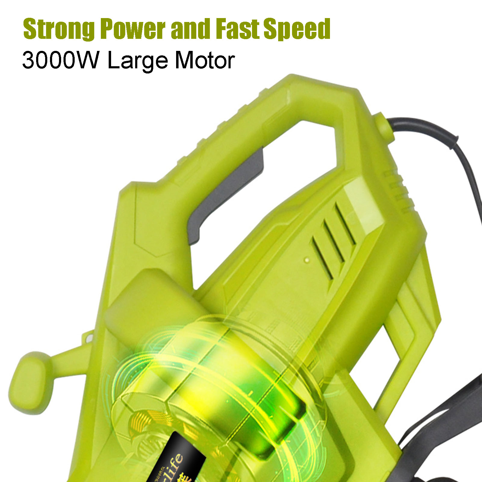 Multi 240V 1 In Collection Mulcher Snow Leaf 3 Bag Leaf Function 3000W Vacuum 220 Garden With Durable Electric Leaf 45L Blower