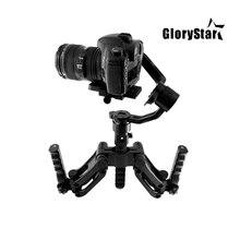 Estabilizador de giroscópio, estabilizador de mão com 5 eixos para câmera micro slr, guindaste zhiyun 2 dji ronin s moza moza