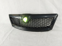 Car styling ABS Front Grille Around Trim Racing Grills Trim for Skoda New Octavia RS 2010 2015