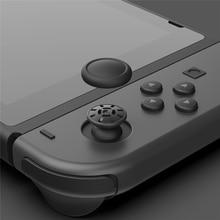 6 adet/takım yedek Joystick kapak oyun Rocker kapağı nintendo anahtarı oyun konsolu onarım aksesuarları kavrama koruyucuları