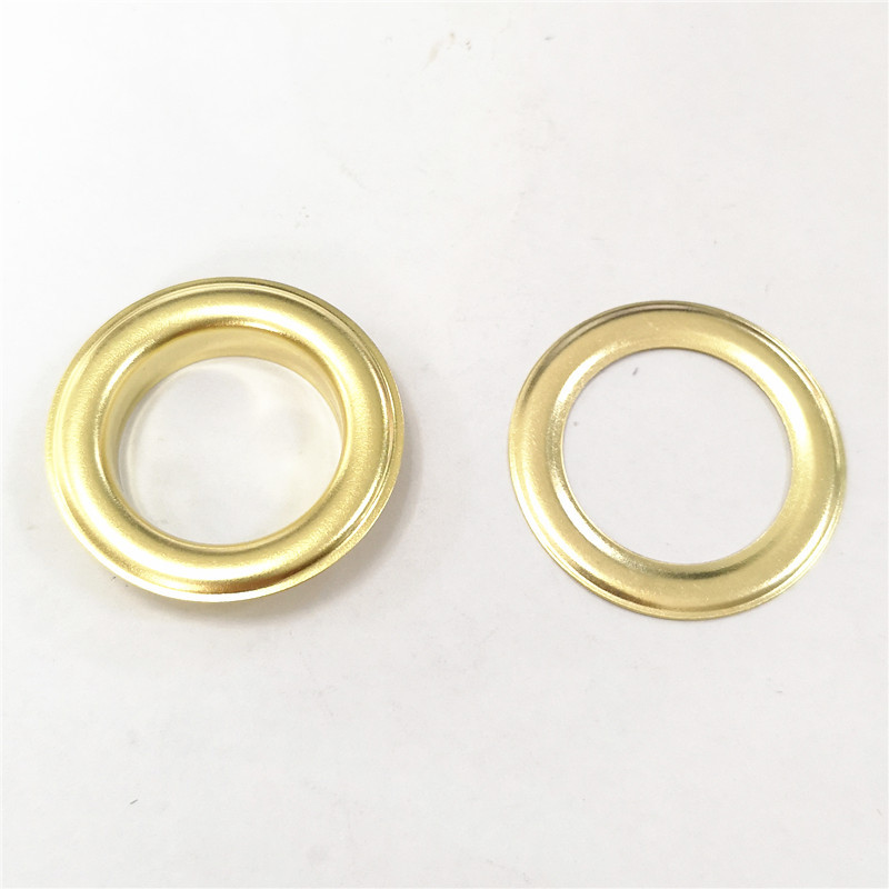 Outer Diameter 4CM Inner Hole 26 Size Large Size Metal Eyelet Storage Box Shoe Box Metal Ring Shower Curtain Supplies Peng Bu Ko