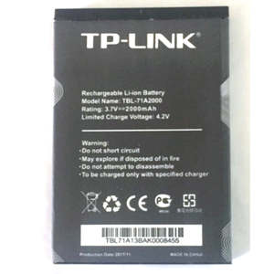 Size-Battery TBL-71A2000 761 Original for TP-LINK Tp-link/Tl-tr861/761/.. 2000mah