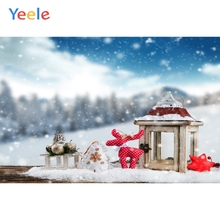Yeele Christmas Party Photocall Bokeh Winter Lantern Photography Backdrop Personalized Photographic Backgrounds For Photo Studio
