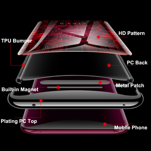 Image 4 - for OPPO Find X Case 6.42 6D Curved Tempered Glass Phone Case Cover for OPPO Find X FindX Cover 360 Full Protective Funda Capa