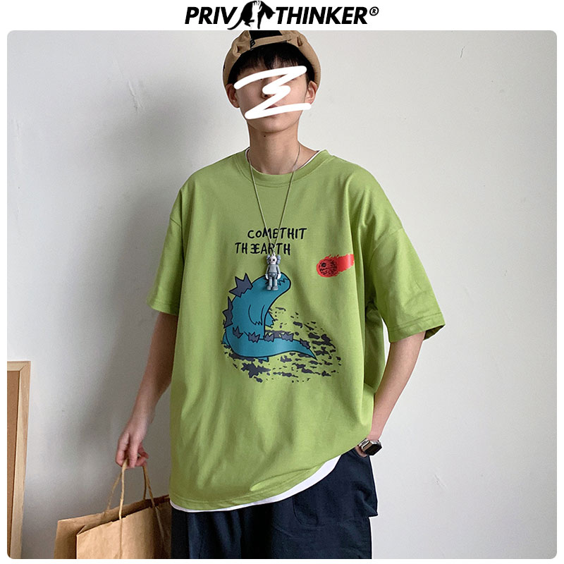 Privathinker Summer Funny T-Shirt Men Korean Casual Unisex Tshirt Men O-Neck Streetwear T Shirt Men Fashions Men Clothes 2020