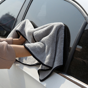 Image 3 - 100X40cm Car Wash Towel Microfiber Car Cleaning Drying Cloth Auto Washing Towels Car Care Detailing Car Wash Accessories