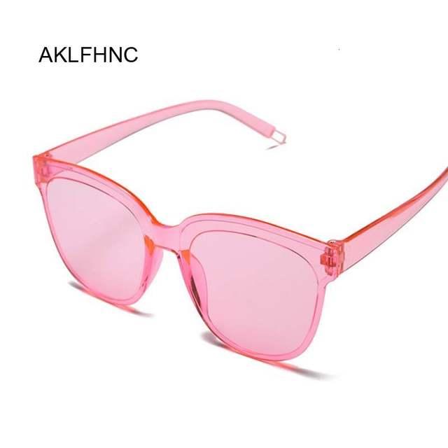 Oversize Square Sunglasses Luxury Brand