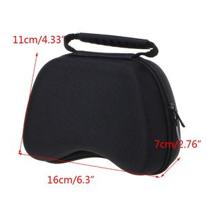 Image 5 - Portable Zipper Pouch Shockproof Hard Protective Case Storage Bag for X box One/Switch Pro/PS3/PS4 Gamepad Handle