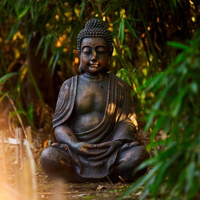 66cm Big Size Buddha Statue Zen Sakyamuni Garden Decorative Statue Outdoor Buddha Sculpture For Home Decor Accessories Ornament Statues Sculptures Aliexpress