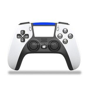 Image 2 - Nieuwe PS4 Draadloze Controller Bluetooth Dualshock Joystick Mando Gamepads Voor Playstation 4 Slanke Pro Video Games
