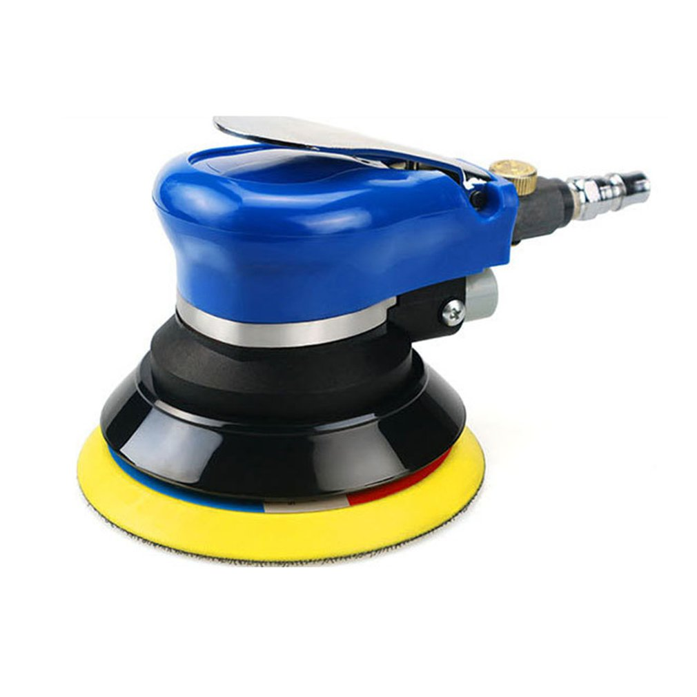 5 polegada pneumatico maquina de depilacao maquina de polir seco lixa lixar maquina de polimento maquina