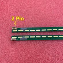 جديد 2 قطعة 68LED LED شريط إضاءة خلفي ل LG 65UH6030 65UF6450 65UH5B BD 6922L 0143A 6916L2305A 6916L2306A