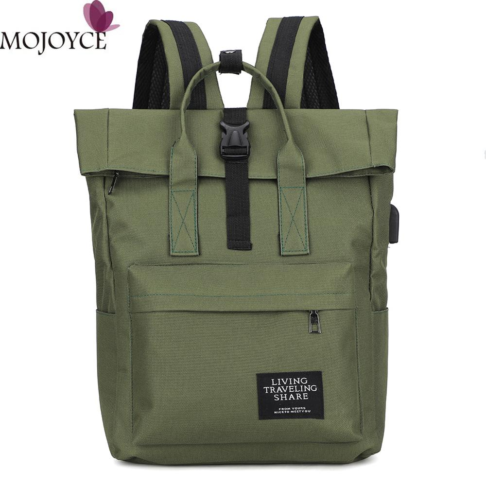 New Women Preppy Large Backpack Canvas/Nylon Travel Backpack Male Mochila Escolar Girls Laptop Backpack School Bags For Teens