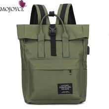 New Women Preppy Large Backpack Canvas/Nylon Travel Backpack Male Mochila Escolar Girls Laptop Backp