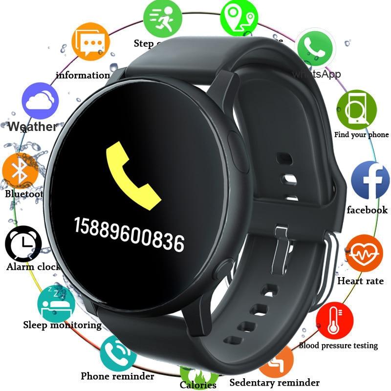 2020 Смарт часы для мужчин, кровяное давление, пульсометр, спортивный фитнес трекер, умные часы Ip67, водонепроницаемые Смарт часы для женщин|Смарт-часы|   | АлиЭкспресс