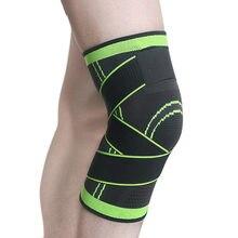 1 unidade joelheiras compressão joelheiras cintas para artrite respirável articulação proteger apoio alívio da dor ginásio esporte equipamentos de fitness