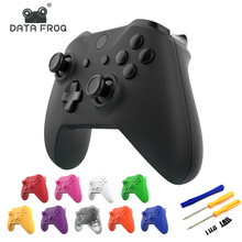 DataFrog Shell for Xbox One Slim Replacement Full Shell And Buttons Mod Kit Matte Controller Custom Cover Housing For Xbox One S