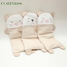 COZINESS Children Baby pillows Newborn Babies Anti-Eccentric Head Pillows Cartoon Color Cotton Sleeping Set Factory Wholesale