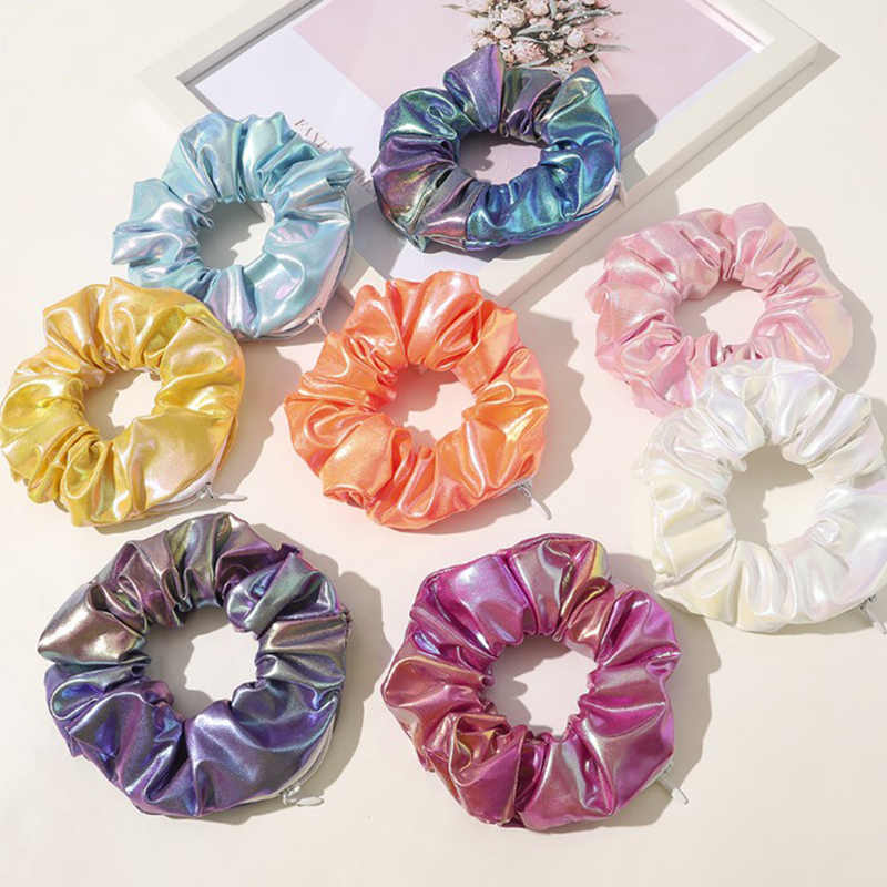 Women Girl Elastic Hair Band Decor Hair Wrap Ponytail  Holder Ring Tie T