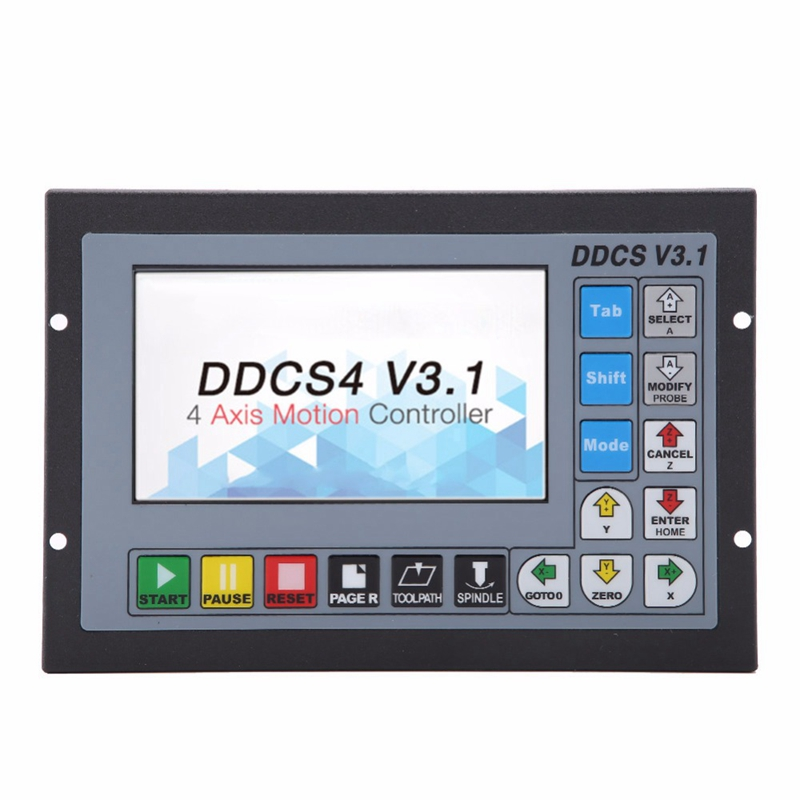 TOP 4 A-Xis DDCS V3.1 Offline CNC Motion Controller For CNC System Accurate