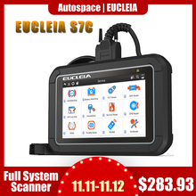 EUCLEIA S7C Full System OBD2 Scanner ABS EPB Airbag DPF Oil Reset ODB2 OBD 2 Code Reader With Portuguese PK MK808 Car Diagnostic