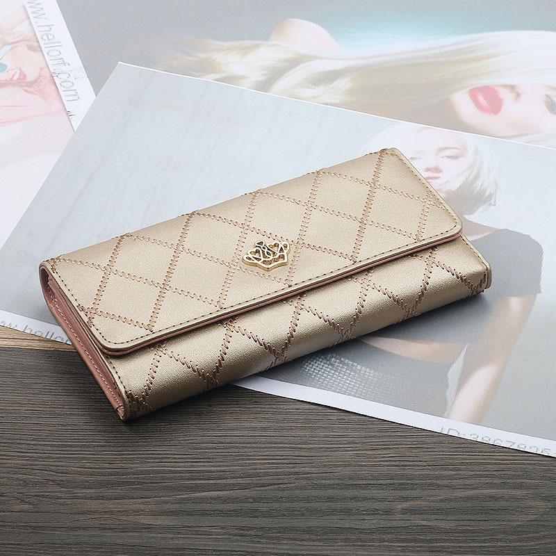 Wallet Purse Multi-Functional Clutch-Card-Holder New-Fashion Fresh Women Long Female