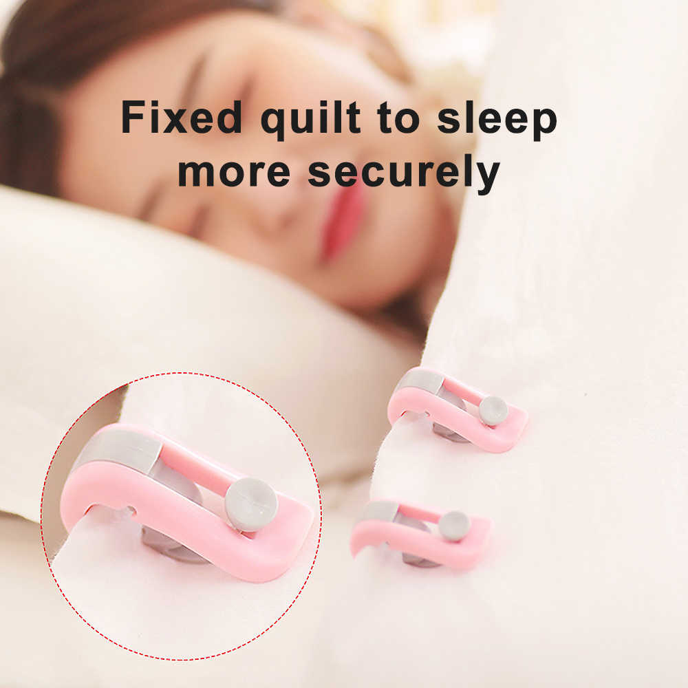 Comforter Grippers Clip Clamp Bed Duvet Donuts Quilt Covers Sheet Holder 2020