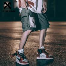 11 BYBB FONCÉ 2020SS Hip Hop Streetwear Short Cargo Hommes D'été Taille Élastique Décontracté Shorts Hommes Genou Longueur pantalon de Jogging
