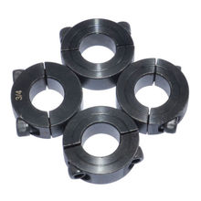 цена на 4pcs Double Split Shaft Oxidation Set Screw Drill 1/4 3/8 1/2 5/8 3/4 7/8 1 inch Bushing Hardware Power Transmission Bearings