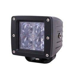 20 Вт Автомобильный светодиодный квадратный рабочий светильник Cree Точечный светильник прожектор для крыши светильник для автомобиля перед...