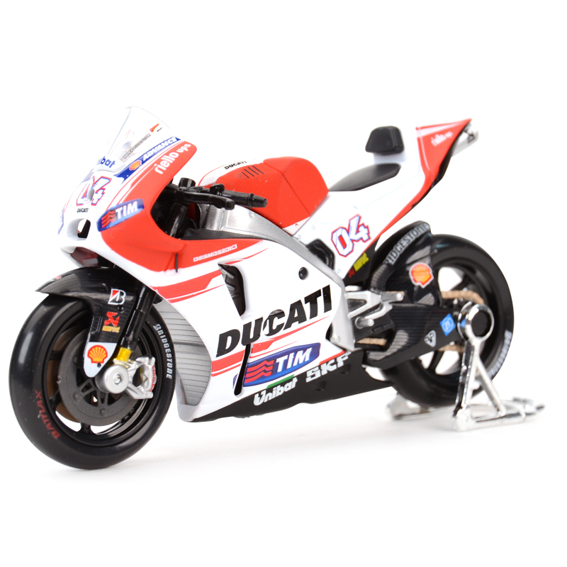 Maisto 1:18 2015 GP Racing Desmosedici RR Factory Racing Team 04# Diecast Alloy Motorcycle Model Toy