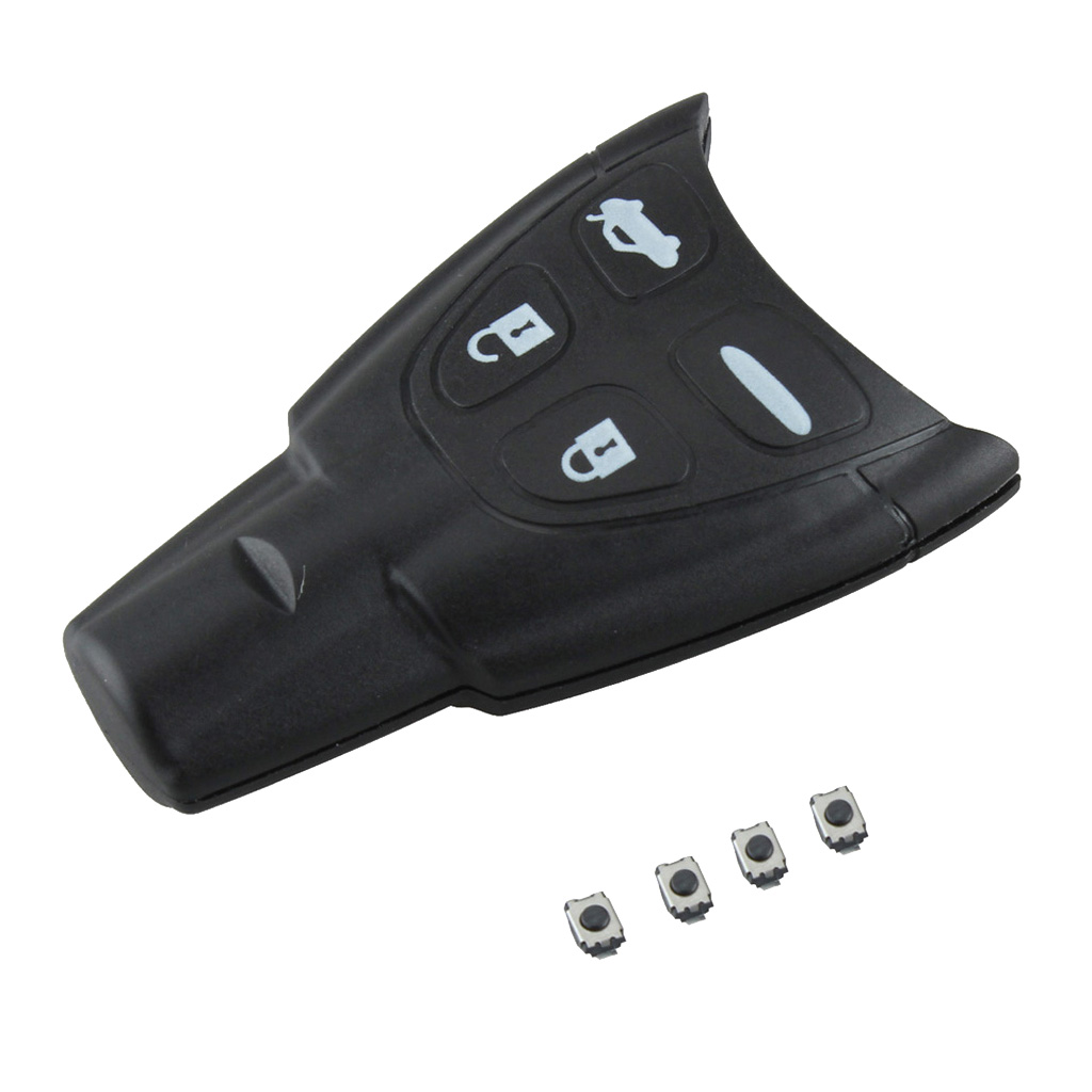 Remote Key Case Fob fit for SAAB 9-3 9-5 93 95 Smart key Shell 4 Button Hot  T