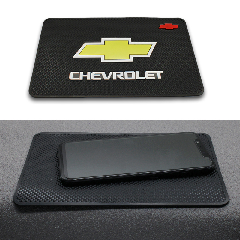 Car Anti Slip Mat Interior Dashboard Phone Gel Pads Fixed Gel Double Sided For Chevrolet Cruze Captiva Lacetti Aveo Niva Trax